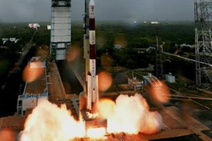 ISRO launched record number of satellites today. Picture- PTI