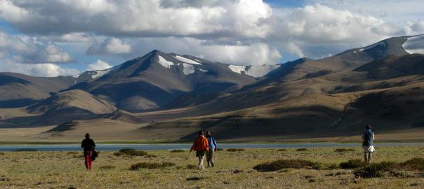 Trekking in Ladakh is a popular choice .  picture via Filckr, McKay Savage