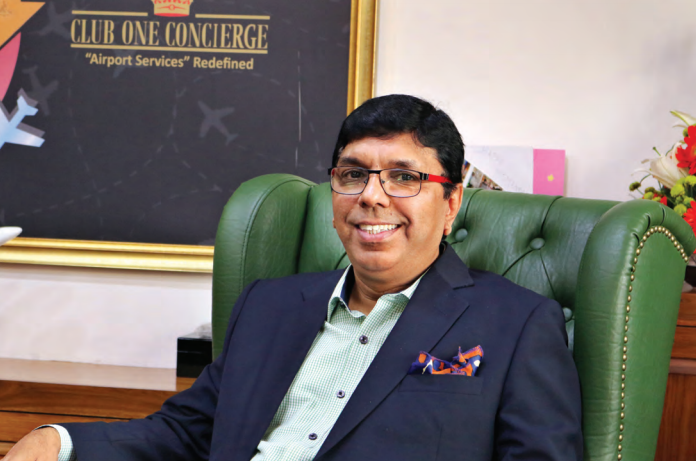 Bhupesh Joshi, CEO & Director, Club One Air