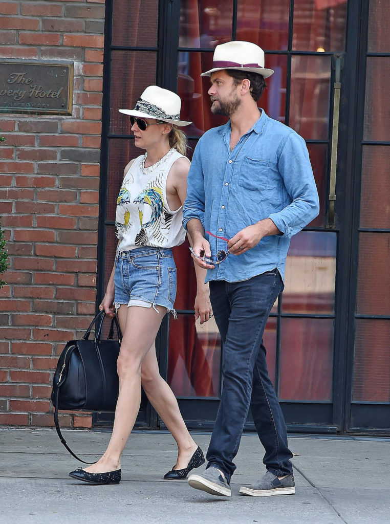 Summer Hats are a fun addition to summer must-haves. Here we see Diane Kruger and Joshua Jackson sporting matching sun hats.