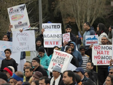 The Indian community in the US is affected by the anti-immigrant statements from the administration and by the dislike of or prejudice against people from other countries