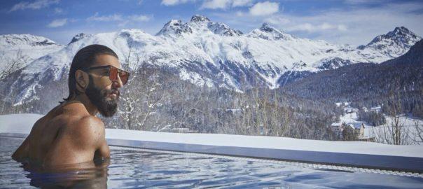 Ranveer Singh was chosen as Indian ambassador for Switzerland Tourism last year