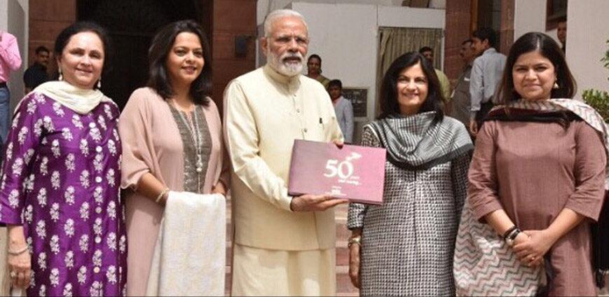 Modi at IMC womens wing golden jubilee