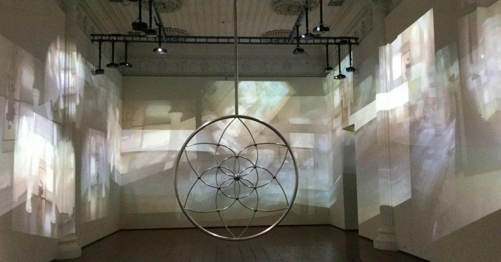 Gary Hill's multimedia artwork on display at Durbar Hall