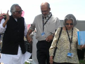 Mrinal Sen at Cannes Film Festival, 2010