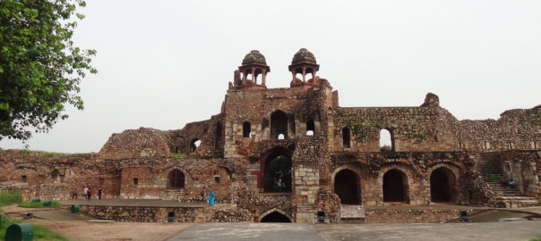 The Purana Qila Museum is enriched with glorious Mughal artefacts