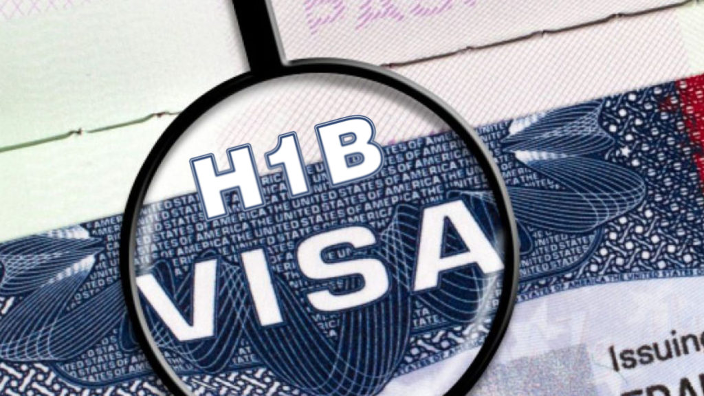 H1B visa is a non-immigrant visa that allows American firms to employ foreign workers in occupations that require theoretical or technical expertise