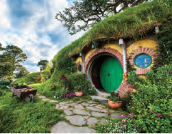 Hobbiton in Matamata - New Zealand