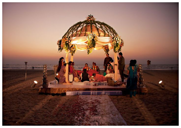 Alibaug is famous for its themed destination weddings