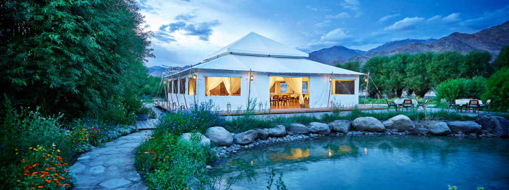 The Chamba Camp Thiskey has myriad adventure activities for its revellers