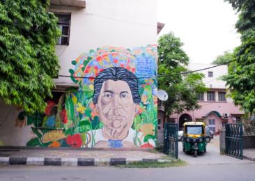 Street Art in New Delhi's Lodhi Colony