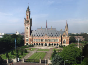 Located at the Peace Palace in The Hague, Netherlands, the International Court of Justice heard a dispute between India and Pakistan yesterday.