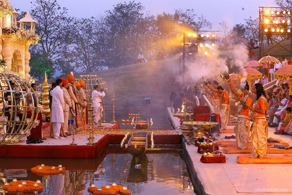 The holy city of Varanasi is an under-ventured wedding destination
