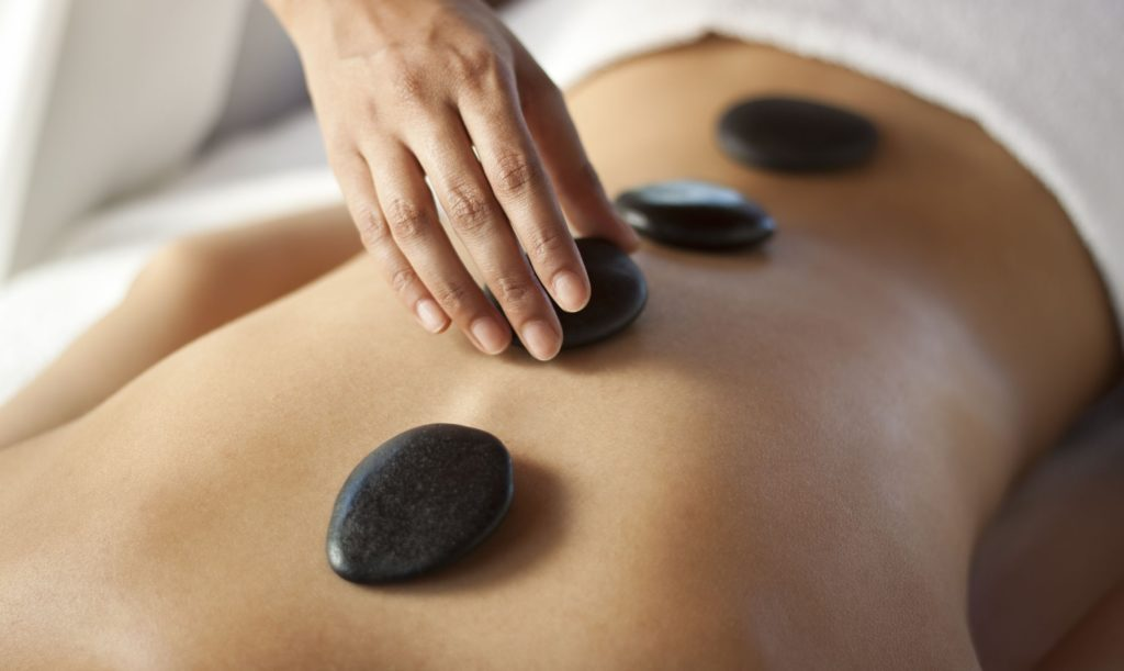 Hot Stone massage is one of the most opted spa retreats here