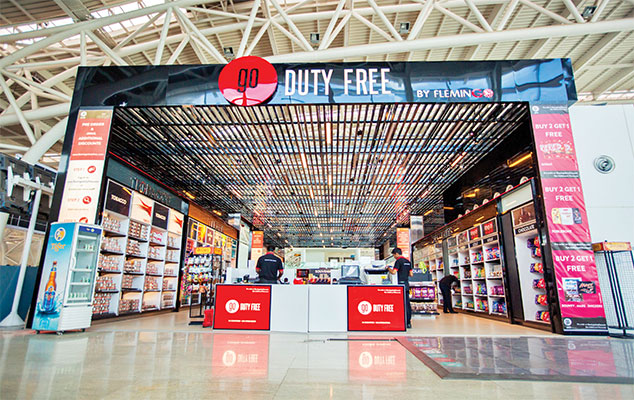 Duty free shops provide a mesmerising shopping experience for travellers. Seen in the picture is GO Duty Free Shop at Chennai Airport