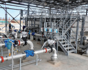 Water treatment plants being used at airports