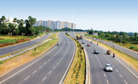 Construction of roads, highways and express highways is on a rise