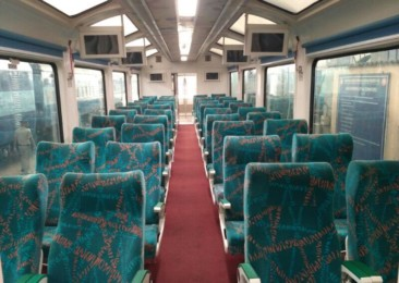 Indian Railways launch India's first glass ceiling Vistadome coach