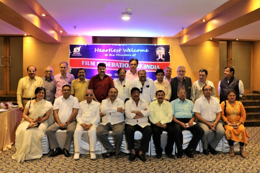 The Film Federation of India meet in Kolkata discussed GST as one of their prime agenda