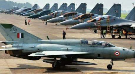 The IAF currently has 33 fighter squadrons as against the authorised strength of 45 squadrons