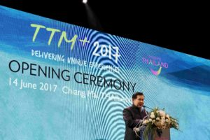 The Deputy Prime Minister of Thailand, General Tanasak Patimapragorn inaugurated TTM+
