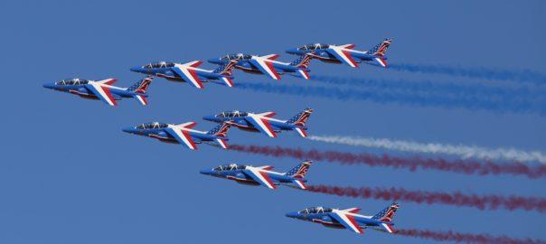 The Paris Air show is an interactive aviation meet