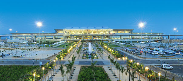 Hyderabad International Airport becomes the first airport in India to facilitate export of mangoes to South Korea directly from a farm-based infrastructure Picture Courtesy: GMR Group
