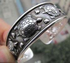 Sreejani's pick: A Tibetan Tribe Silver Amulet Turtle Cuff Bracelet