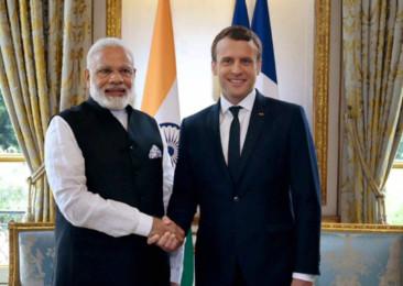 Première visite d'État d'Emmanuel Macron en Inde