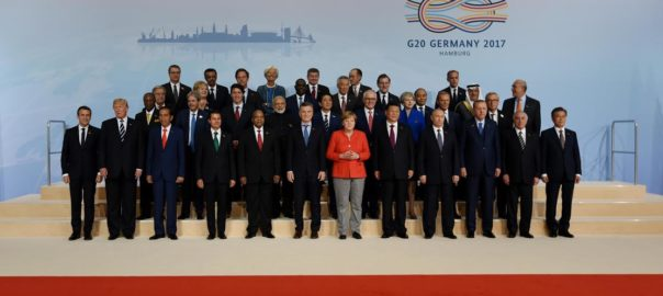 The G20 Family Photo, with the leaders of the G20 countries. Photo-PIB
