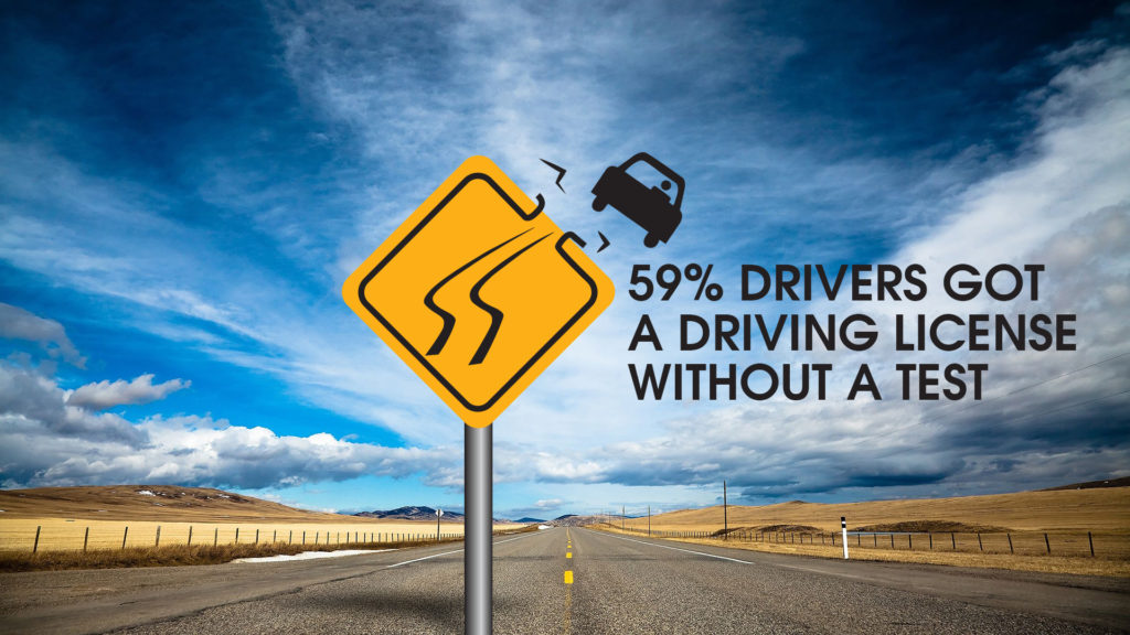 The survey furbishes chilling figures of appalling road safety measures in India