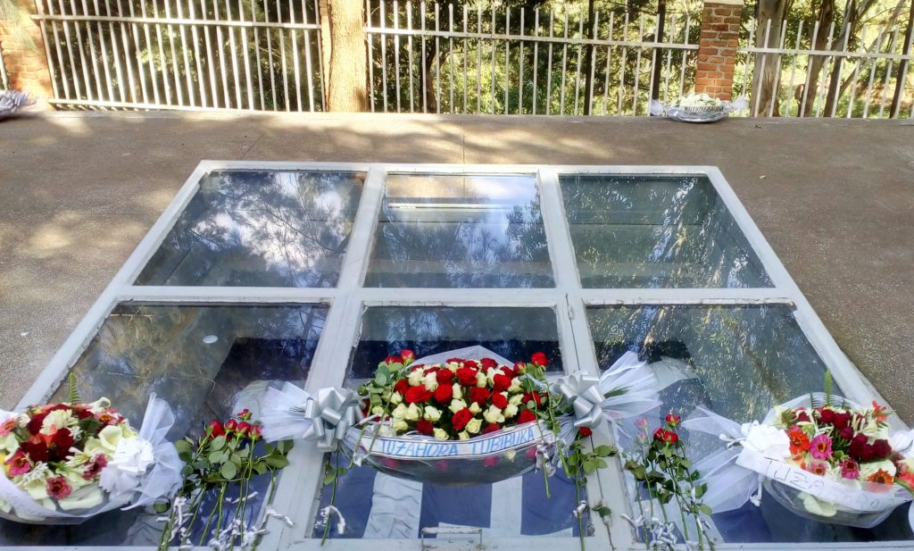 The Kigali Genocide Memorial includes three permanent exhibitions: The 1994 Genocide Against The Tutsi; Wasted Lives; and Children's Room