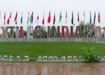 India's first mega textiles trade fair