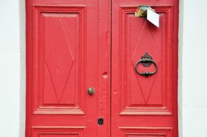Adding nameplates on the door can help opportunities trace you