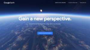 Google Earth introducing a new perspective to interactive studies