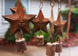Wind chimes are meant to help positive energy enter home