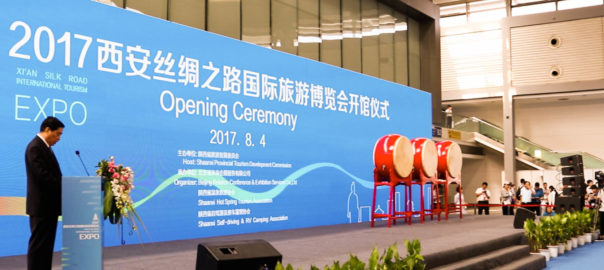 Organised by Shaanxi Provincial Commission for Tourism Development, the theme of the expo was 'Cooperation and Mutual Development along the Silk Road'