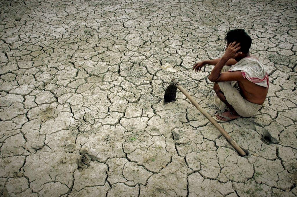 With every one degree rise in temperature above 20°C, there are 70 farmer suicides in India