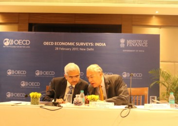 OECD trims India's growth outlook for 2017 and 2018