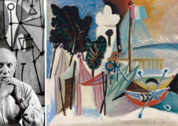 La Plage, Juan-les-Pins by Picasso in India