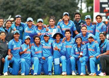 Les succès des femmes en bleu