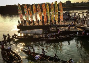 Silk River India Walk performative walk awaited