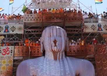 Experiencing Bahubali Mahamastakabhisheka at Shravanabelagola