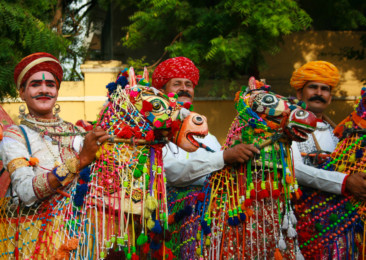 The colourful festival of Teej in Jaipur