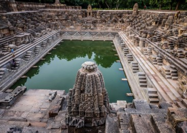 The mesmerising Modhera Sun Temple in Gujarat