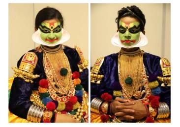 The backstage of Kathakali: Turning serene faces eternally beautiful