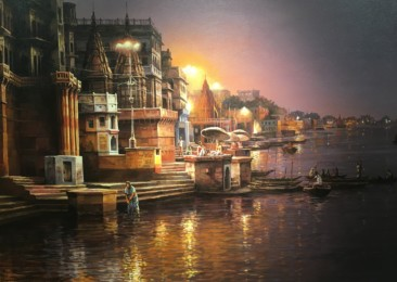 An art exhibition in Delhi and its various hymns