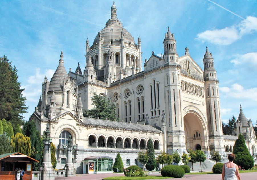 Lisieux is an important centre of pilgrimage in France