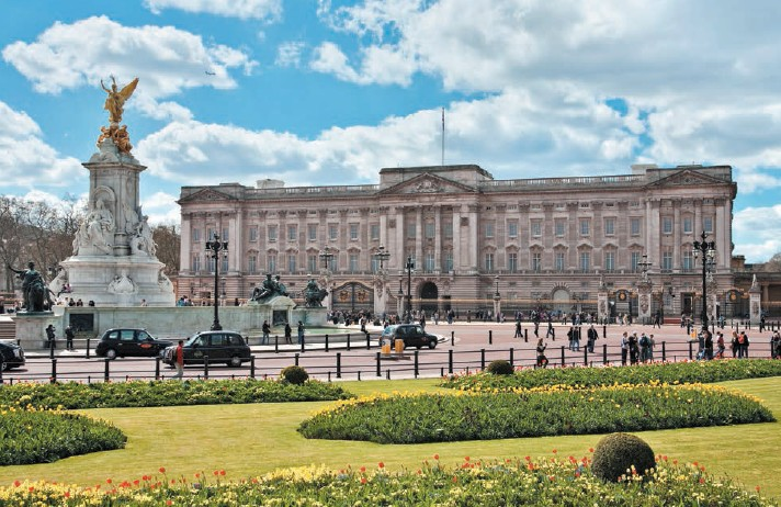 Buckingham Palace is one of the major tourist attractions in London;