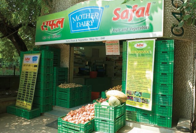 Safal, a unit of Delhi-based Mother Dairy is one of the pioneers in organised fruits and vegetables retail, running 350 stores